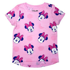 Minnie Mouse Clothes For Toddlers Disney Minnie Mouse Toddler Girls U0027 Pocket Tee Airy Pink Target