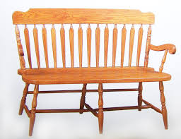 deacon u0027s bench solid hardwood chairs and benches oak maple