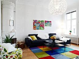 Black Living Room Rugs Living Room 5 Places For Colorful Living Room Rugs Dining Room