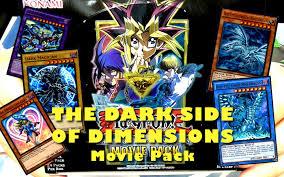 yu gi oh the dark side of dimensions movie pack new blue eyes