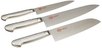 amazon com pamesoh solingen stainless steel kitchen knife set of