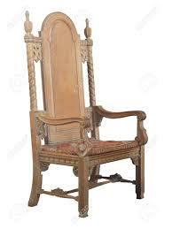 chaise d église une grande chaise d église antique en bois antique banque d images