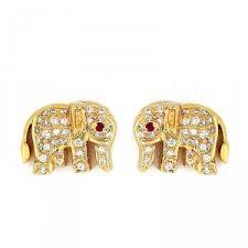 earrings in grt earrings studs grt collections diamond earrings grt jewels