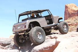 jeep commando custom well traveled andy bornschein s rear coilover 1968 jeepster