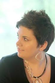 images of neckline haircut on fat women a pixie cut is a short hairstyle worn by women generally short on