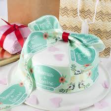 cake ribbon custom ribbon printing personalized ribbon design your own