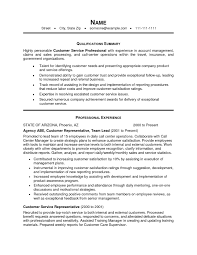Professional Summary Example For Resume by Professional Summary Examples For Resume For Customer Service