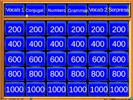 Jeapordy Template powerpoint jeopardy template review of 1 2 for midterm by
