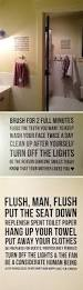 Boy Bathroom Ideas by Best 25 Bathroom Rules Ideas On Pinterest Bathroom Signs Funny
