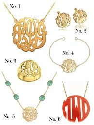 monogram jewelry cheap 16 best jrwelry images on jewellery beading jewelry