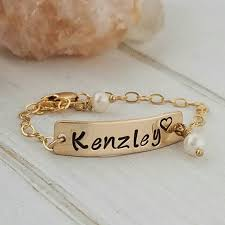 baby gold bracelet with name gold baby bracelet baby name bracelet 14kt gold filled baby