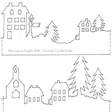 printable ornaments template free template for lanterns
