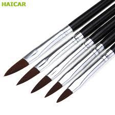 wholesale o nail art line paint flower draw brush set acrylic uv