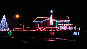 Christmas House Light Show by House That Does Light Show In St Joseph Mo Youtube