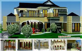 luxury homes floor plans 5 bedroom luxury home in 2900 sq feet kerala home design and