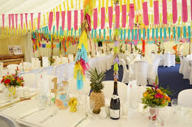 Tropical Theme Wedding - tropical disco wedding with gold pineapples brighton