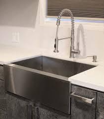 Narrow Sinks Kitchen 33 Inch Stainless Steel Flat Front Farmhouse Apron Kitchen Sink 60