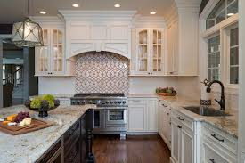 under cabinet molding kitchen traditional with glass arched