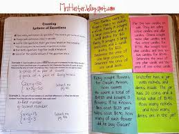 systems of equations project lesson