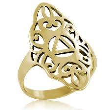long gold rings images Gold filigree ring 10k gold filigree aa ring my 12 step jpg