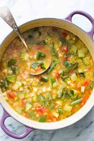 fall fresh garden vegetable soup kale and roasted vegetable soup