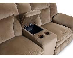 lane talon double reclining console loveseat lane furniture