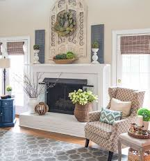 Mantel Fireplace Decorating Ideas - best 25 fireplace decor summer ideas on pinterest summer mantel
