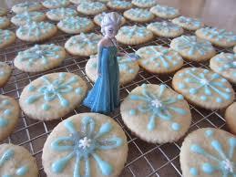 snowflake sugar cookies frozen birthday snowflake sugar cookies partykitchen