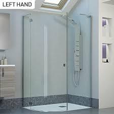 800 Shower Door Moods Reflexion 8 1200 X 900 Frameless Hinged Offset Quadrant