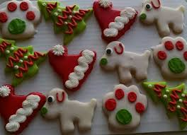 dog themed christmas cookies cookies by alison pinterest