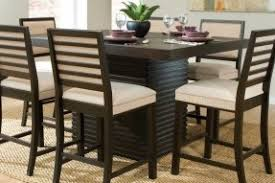 Espresso Counter Height Table Foter - Woodbridge home design