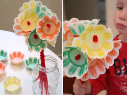 Flowers For Crafts - rainy day crafts with kids spring cupcake flowers pipe cleaner