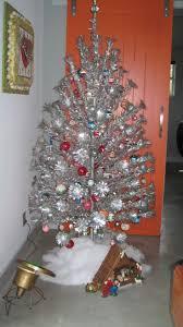 Retro Christmas Tree Toppers - christmas aluminum christmas tree astonishing picture ideas