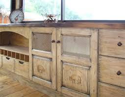 cuisine bois brut cuisine bois brut meuble bas duangle pin massif brut