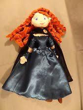 disney merida brave princess rag doll plush soft toy 12