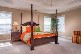 the master bedroom of the cavanaugh ii floor plan by ball homes