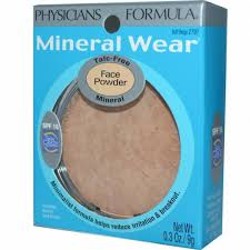 physicians formula mineral wear talc free mineral face powder