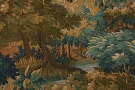 Robert Allen Drapery Fabric Robert Allen Scenic Flora Printed Linen Blend Drapery Fabric In
