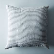 washed linen pillow on food52