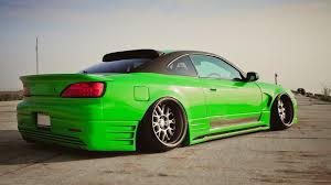 nissan green cars nissan silvia s15 green cars jdm wallpapers