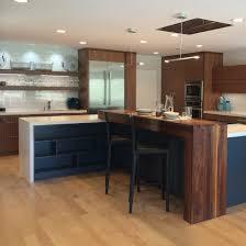 walnut modern kitchen sara bates interior design cook