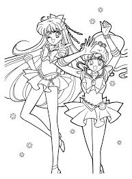 46 sailor moon coloring pages images coloring