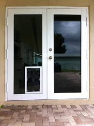 Patio Door With Pet Door Built In Door With Door Pet Door Black Wall Exterior Door With Door