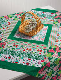quilted square table toppers got a stash of christmas themed fabrics whip up this quick you re