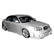 2003 hyundai elantra kit duraflex hyundai elantra gls sedan 2003 evo 3 style fiberglass