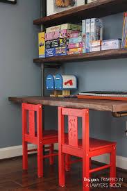 desk and bookshelves diy pipe bookshelves and desks hometalk