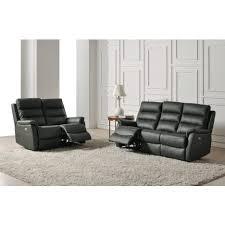 assise canape canapé relax électrique 2 ou 3 places assise et dossier cuir
