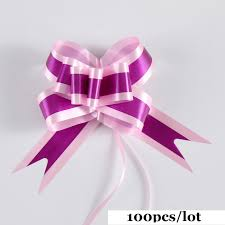 pull bows wholesale 100pcs lot beaytiful gift packing pull bow ribbons gift wrapping