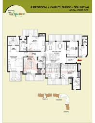 bestech park view spa next floor plan floorplan in