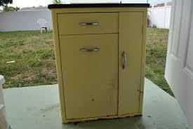 Paint Metal Kitchen Cabinets Vintage Metal Kitchen Cabinet Kitchen